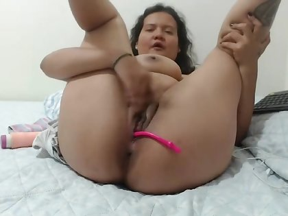 Milking and masturbating