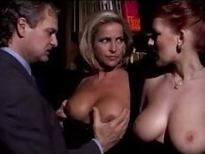 Milf Couple Sharing Bosomy Redhead Laddie