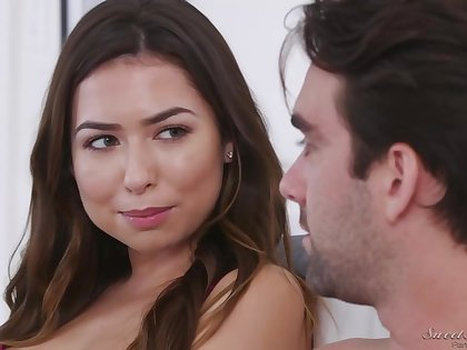 Melissa Moore got fro and dirty with a handsome man, not knowing if he was devoted to