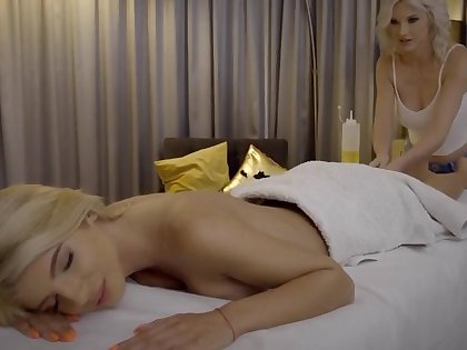 YOUR MASSAGE MAKES ME CUM